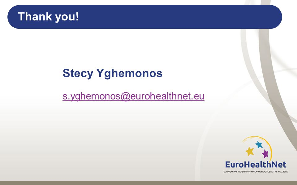 Thank you! Stecy Yghemonos