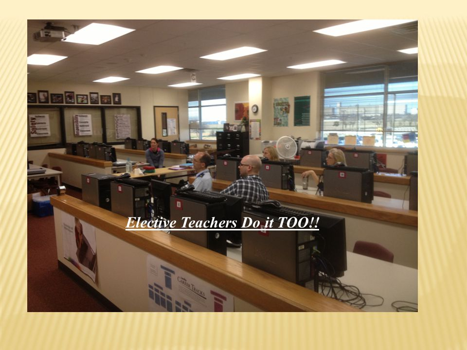 Elective Teachers Do it TOO!!