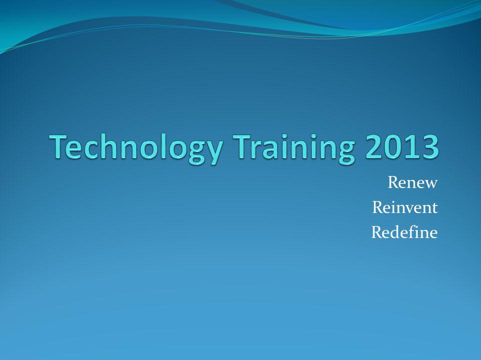 Renew Reinvent Redefine