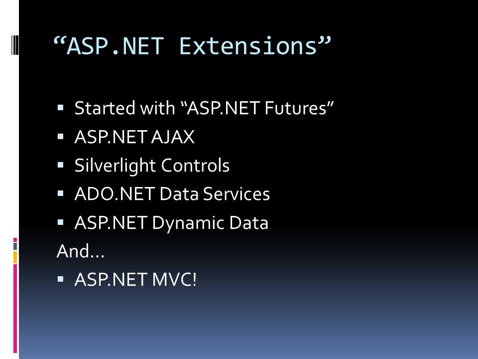 What is ASP.NET MVC.