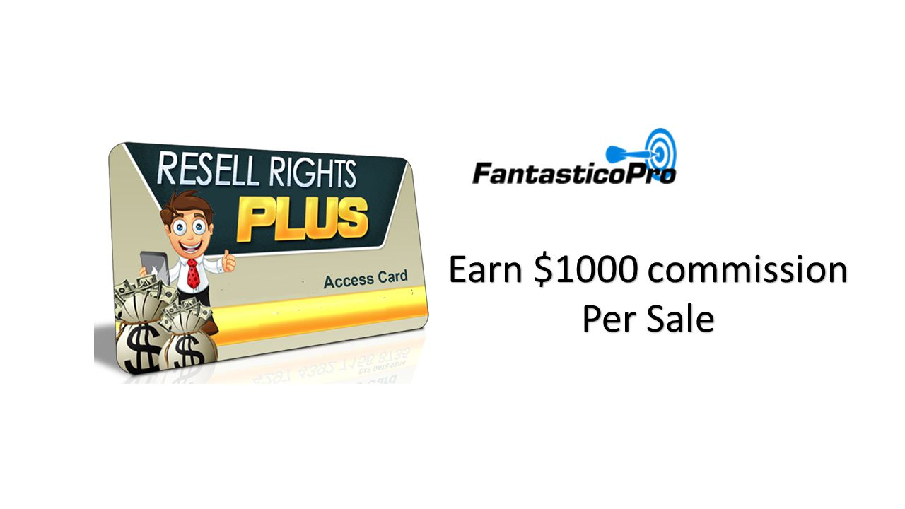 Earn $1000 commission Per Sale