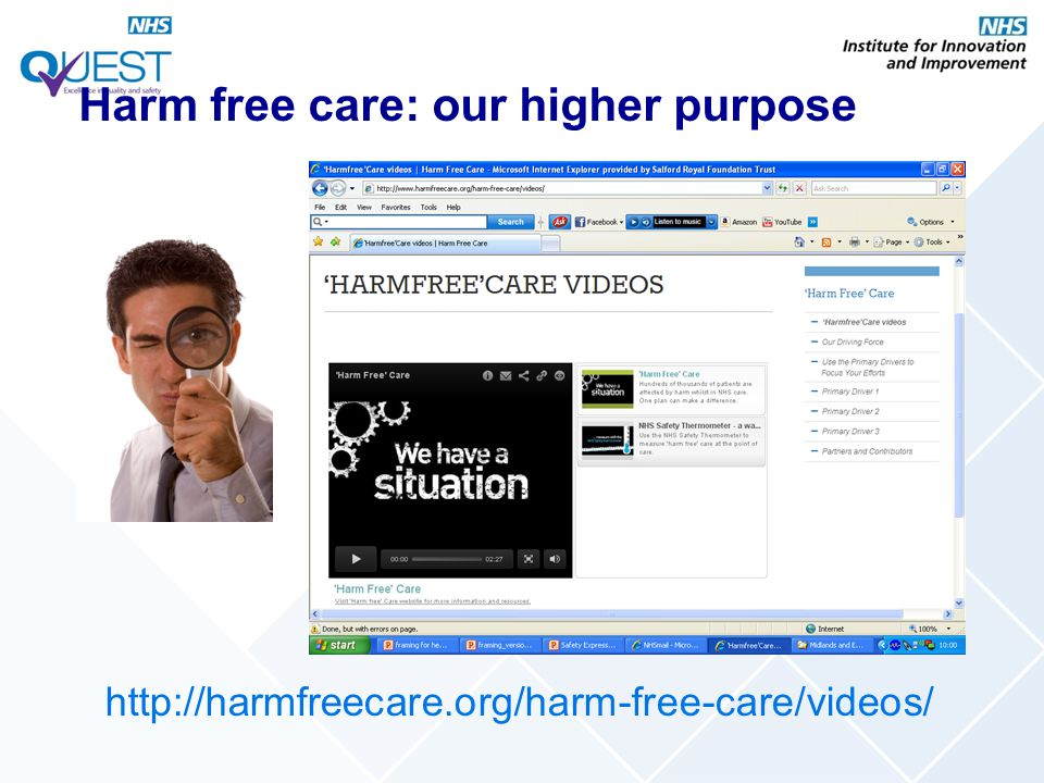 Harm free care: our higher purpose http://harmfreecare.org/harm-free-care/videos/