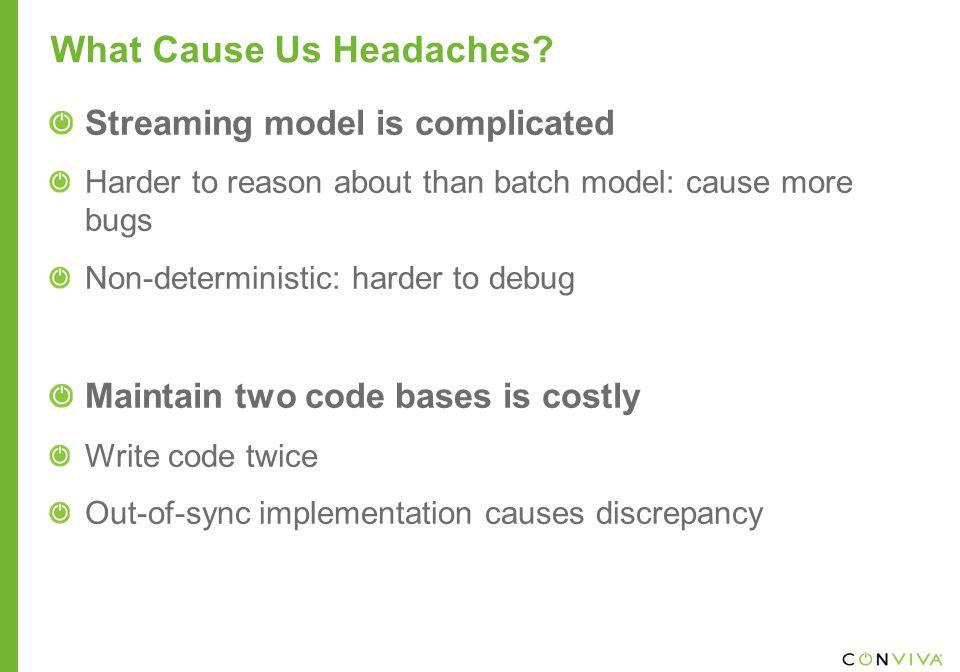What Cause Us Headaches.