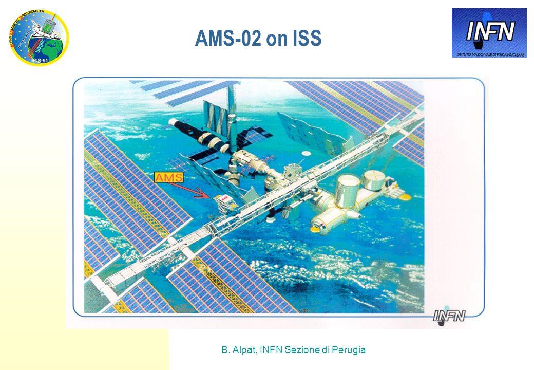 B. Alpat, INFN Sezione di Perugia AMS-02 on ISS