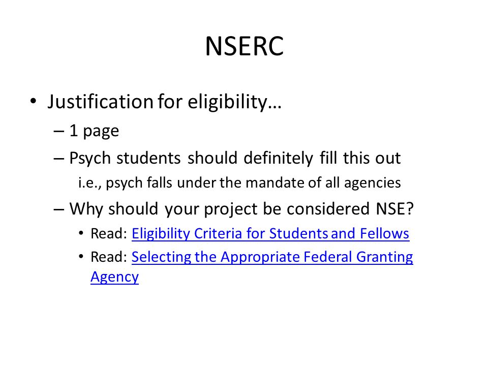 NSERC Contributions and Statements – Review: Attachment standardsAttachment standards – Three parts Contributions to research and development – What to include (link * search Part 1 – Contributions..)link – Most recent first: follow format on site (link above) Most significant contributions to research and dev.