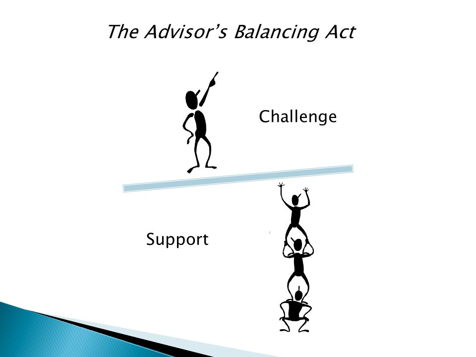 The Advisor's Balancing Act Challenge Support