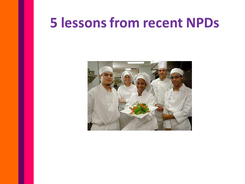 5 lessons from recent NPDs