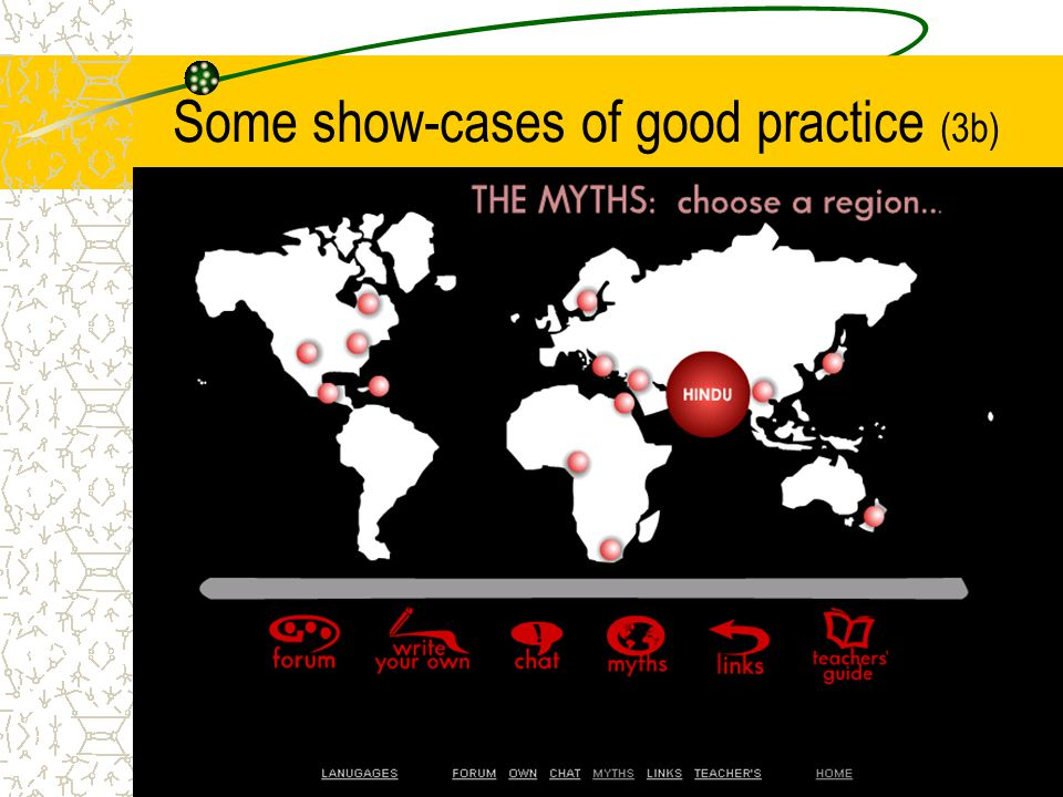 Some show-cases of good practice (3b)