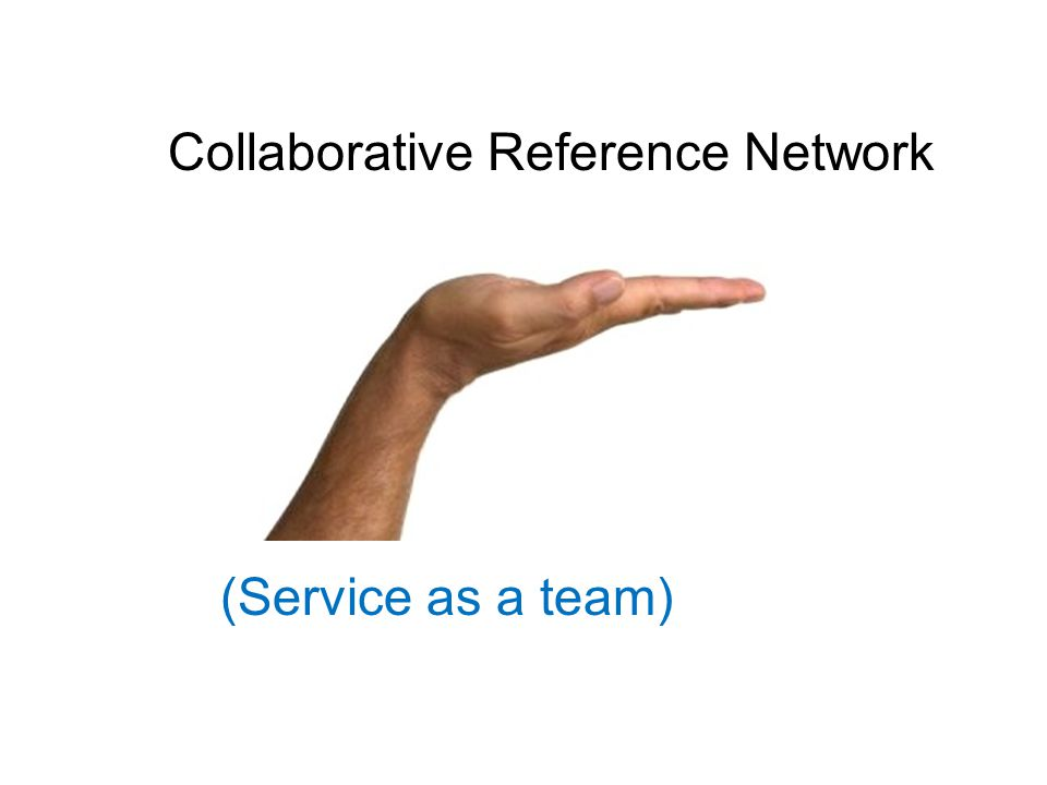 Collaborative Reference Network (Service as a team)