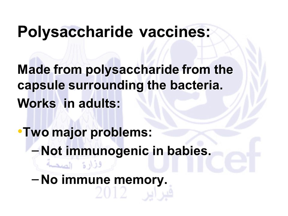 Pnemoumoccal Conjugate Vaccine pcv for infant and children: The first PCV was approved in the USA in 2000 known as PCV7.