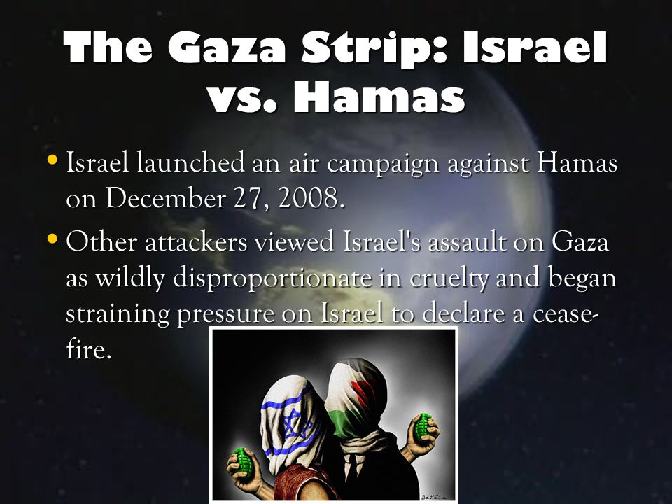 The Gaza Strip: Israel vs.