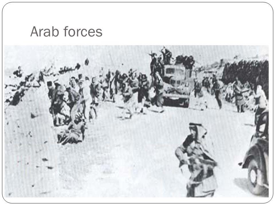 Arab forces