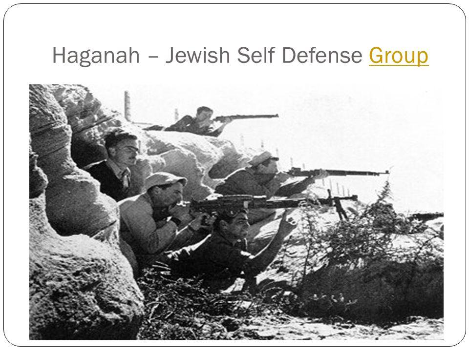 Haganah – Jewish Self Defense GroupGroup