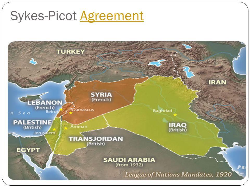 Sykes-Picot AgreementAgreement
