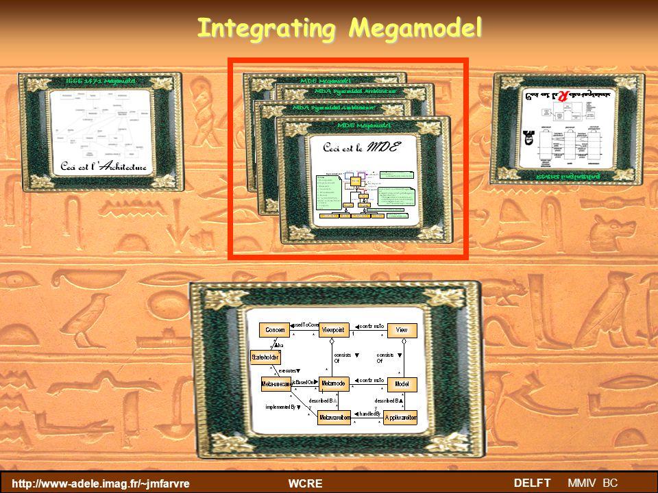 http://www-adele.imag.fr/~jmfarvreWCRE DELFT MMIV BC Integrating Megamodel IEEE 1471 IEEE 1471