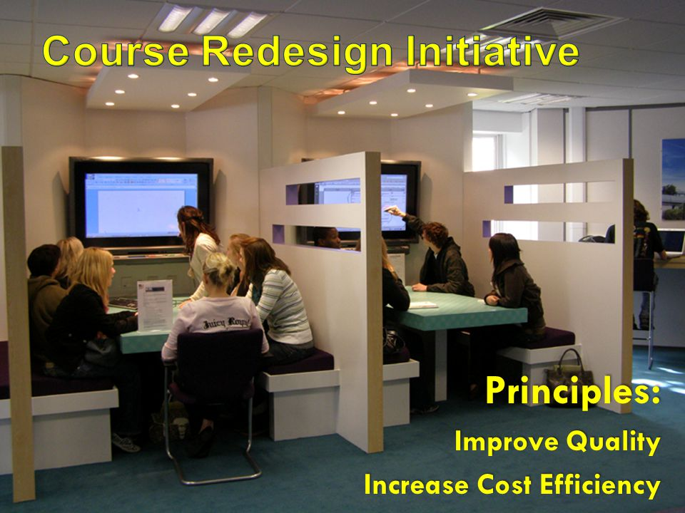 Principles: Improve Quality Increase Cost Efficiency