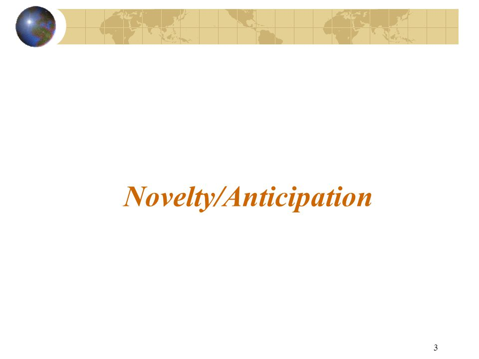 2 Overview  What is anticipation.
