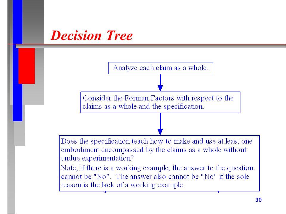 30 Decision Tree