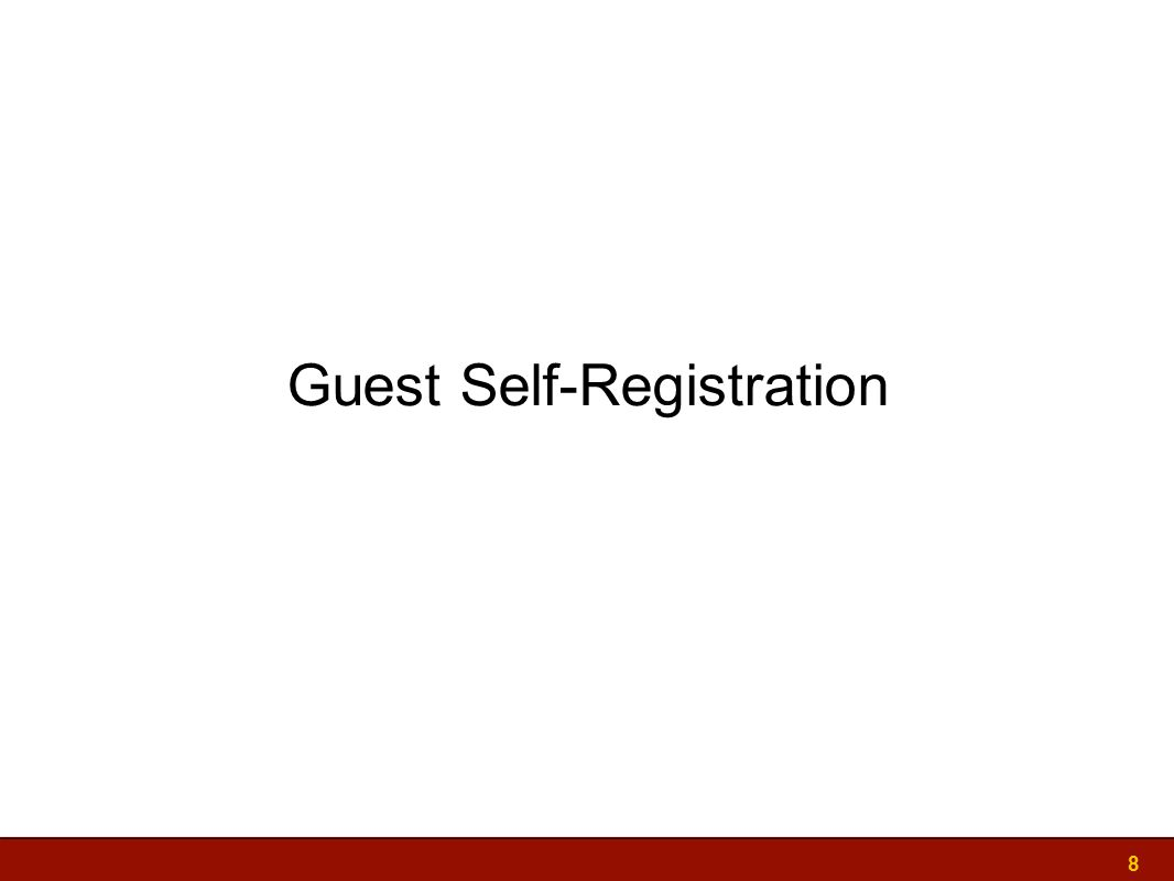 Guest Self-Registration 8