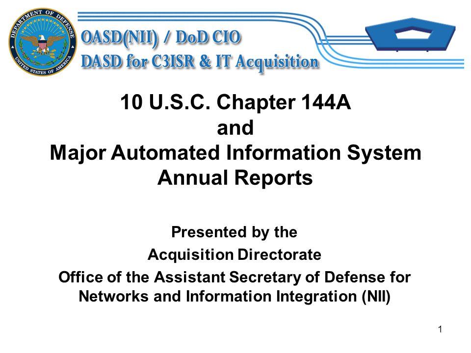 1 10 U.S.C.
