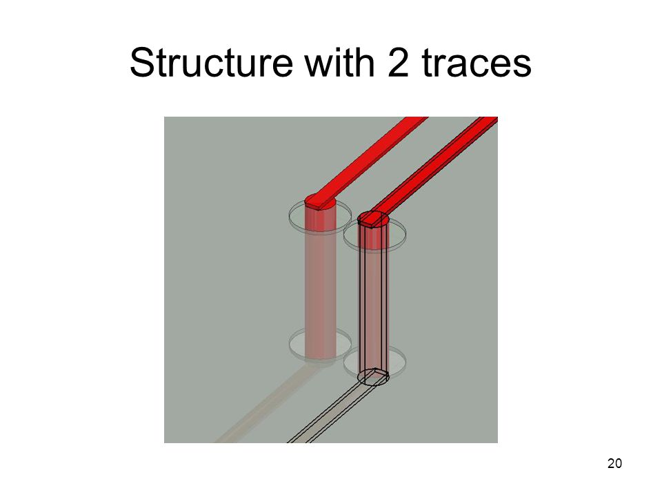 20 Structure with 2 traces