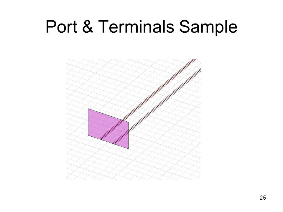 25 Port & Terminals Sample
