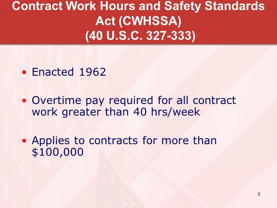 9 Copeland Act (40 U.S.C.