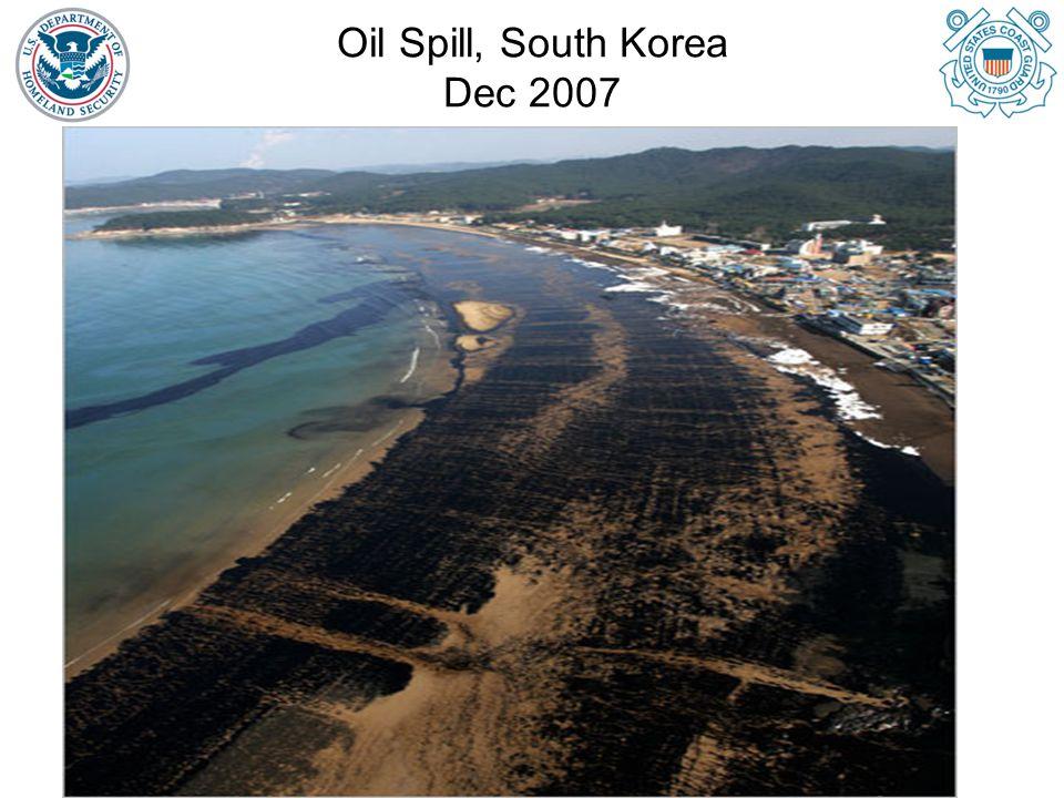 Oil Spill, South Korea Dec 2007