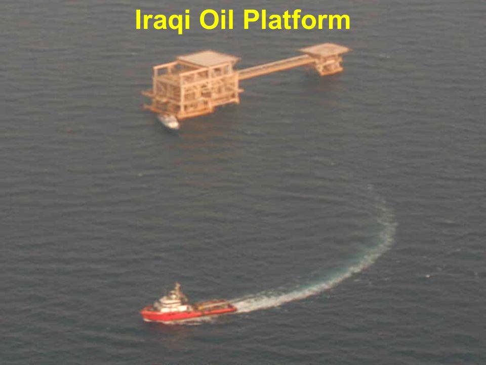 Iraqi Oil Platform