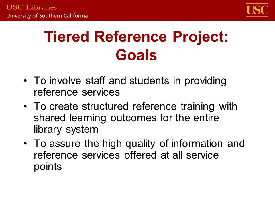 Module 4: Key Specialized Resources Subject specialists currently experiment with tutorial software The project is gaining institutional buy-in Development plans: Fall 2006