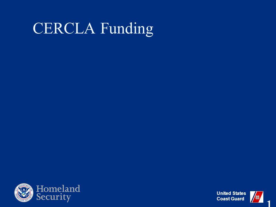 United States Coast Guard CERCLA Funding 11
