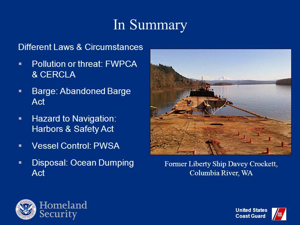 United States Coast Guard Questions.