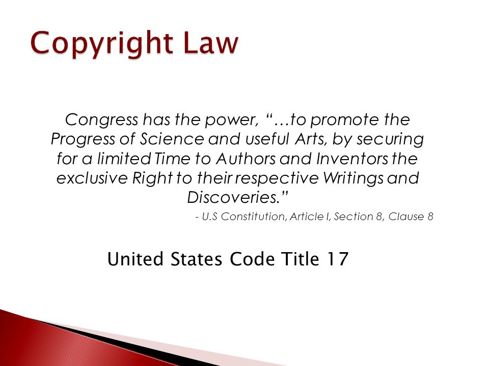 Copyright Timeline: History of Copyright in the United States Association of Research Libraries 1790 – Copyright Act of 1790 1886 – Berne Convention  U.S.