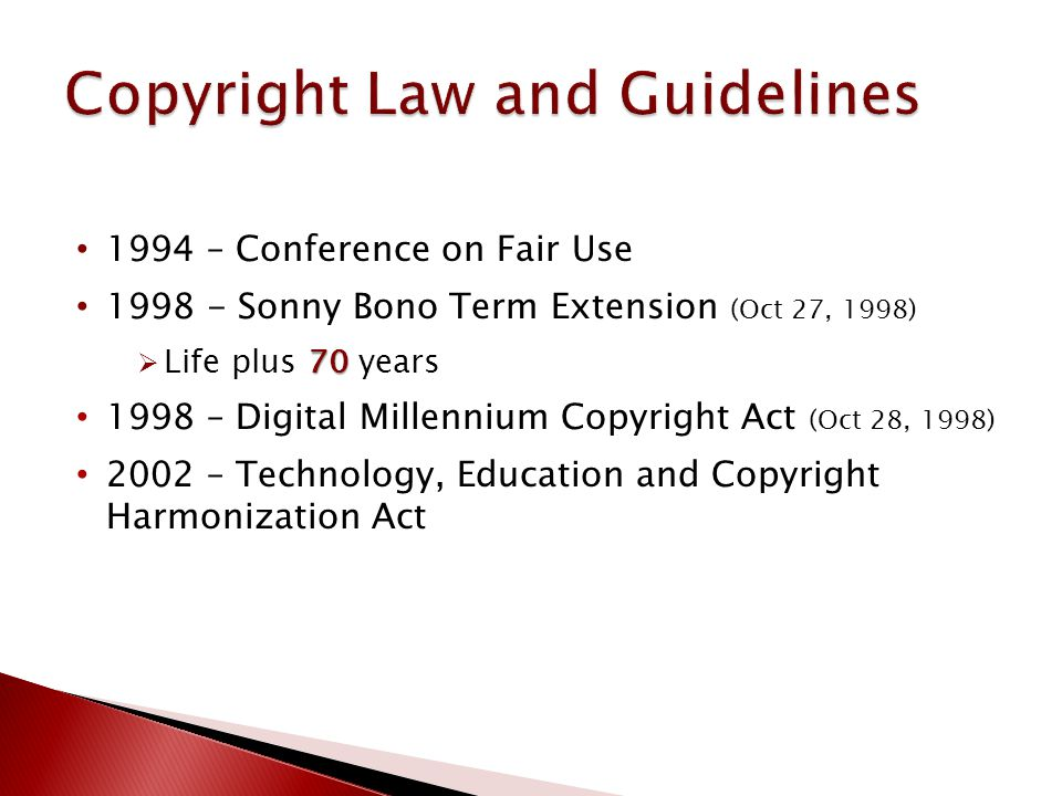 Title IV: Digital Preservation three Authorized institutions may make ≤ three copies.