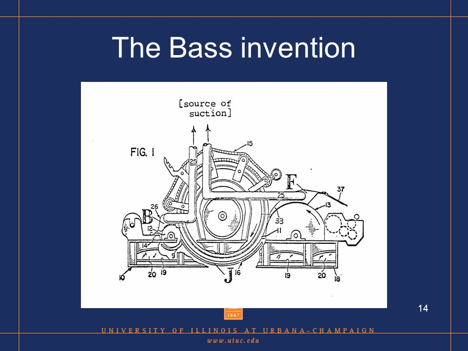 14 The Bass invention