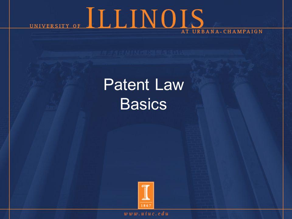 Patent Law Basics