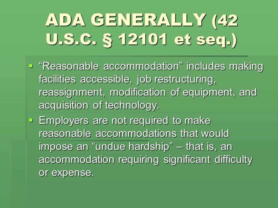 ADAAA (Pub.L. No. 110-325, 122 Stat. 3553, as codified in 42 U.S.C.