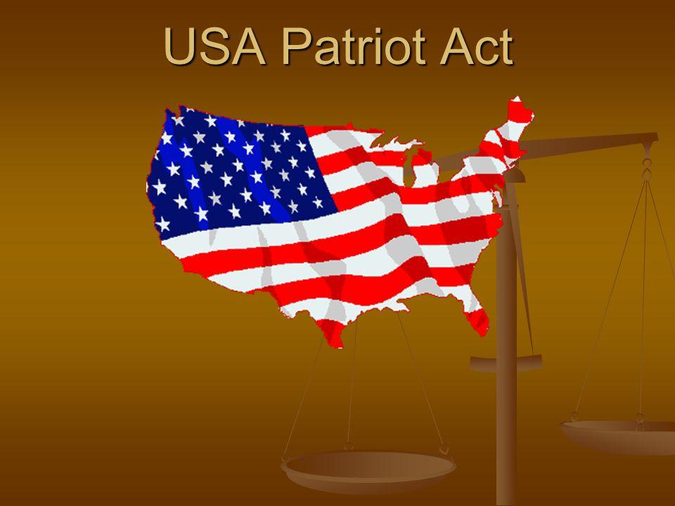 USA Patriot Act