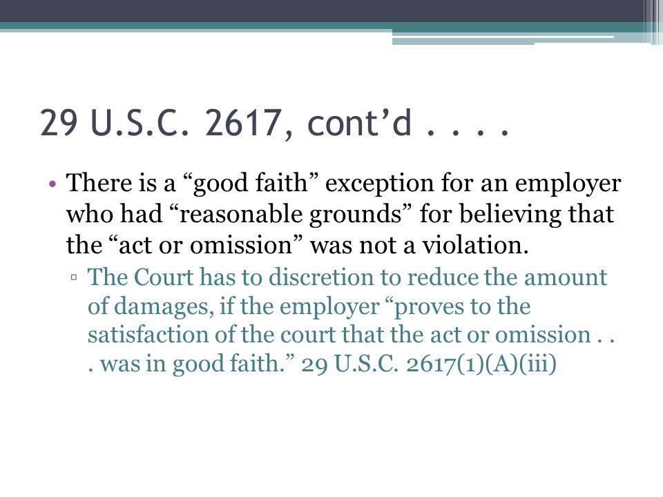 29 U.S.C. 2617, cont'd....