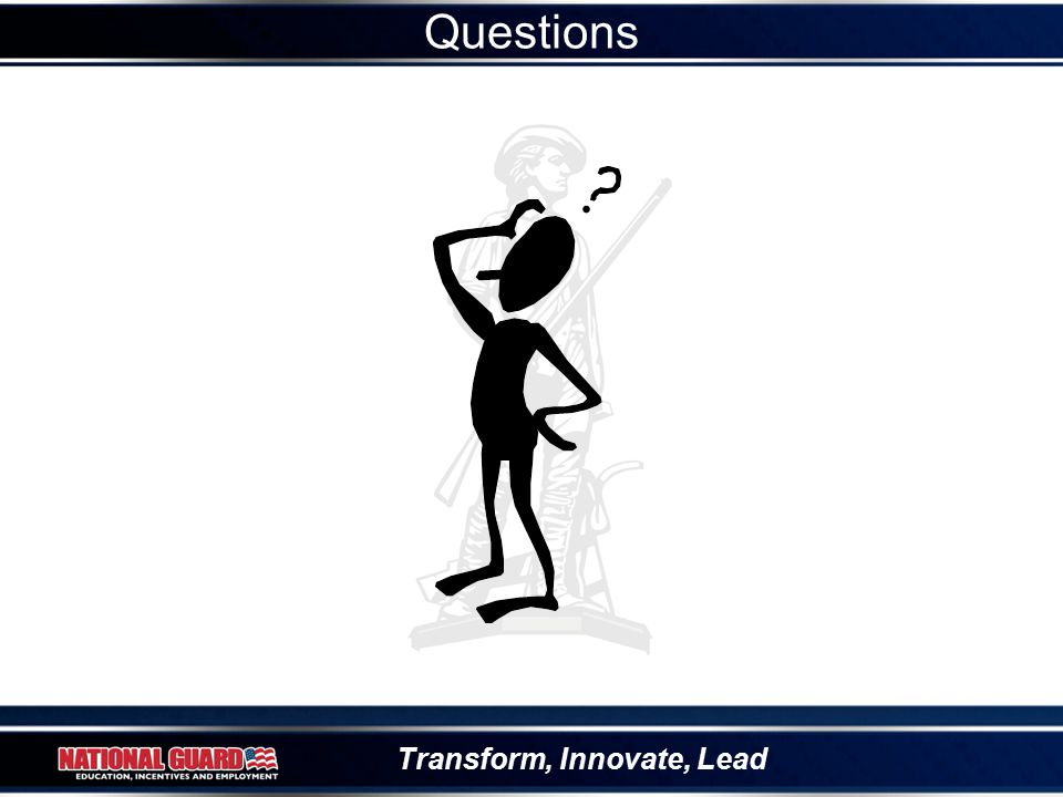 Transform, Innovate, Lead Questions