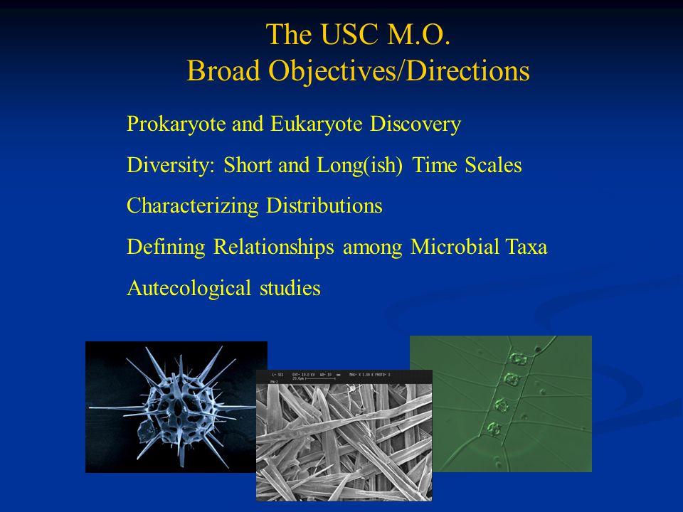 The USC M.O.