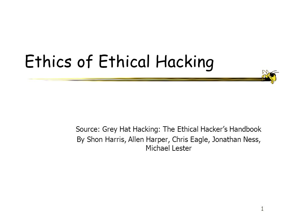 Source: Grey Hat Hacking: The Ethical Hacker's Handbook By Shon Harris, Allen Harper, Chris Eagle, Jonathan Ness, Michael Lester 12 Common Steps for Attackers Covering Tracks –Carrying out activities to hide one's malicious activities –Example: Deleting or modifying data in a system and its application logs