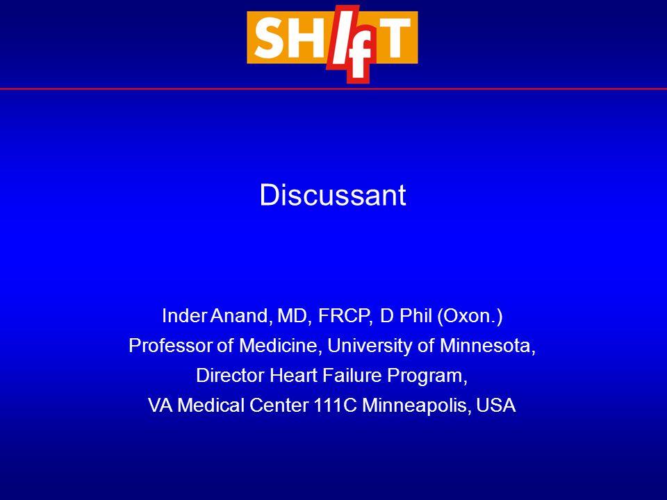 Inder Anand, MD, FRCP, D Phil (Oxon.) Professor of Medicine, University of Minnesota, Director Heart Failure Program, VA Medical Center 111C Minneapol