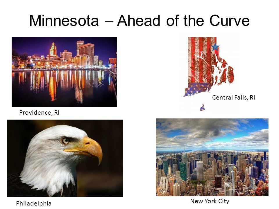 Minnesota – Ahead of the Curve Providence, RI Philadelphia New York City Central Falls, RI