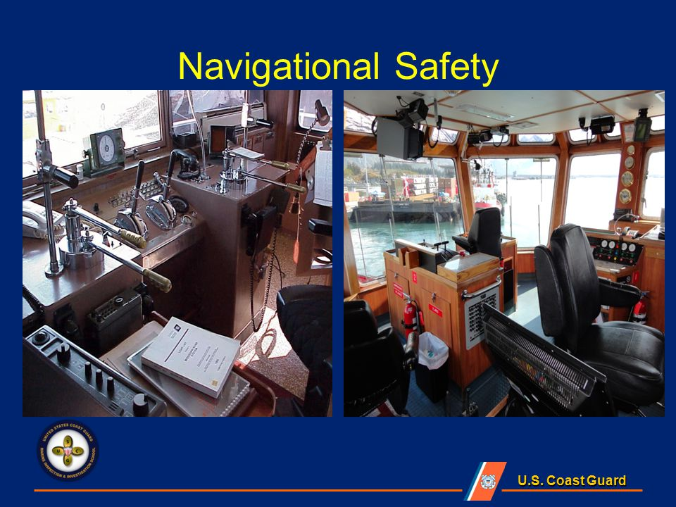 Automatic Identification System (AIS) 33 CFR 164.46(a)(3) UTVs > 26 ft & > 600 HP; only required in VTS areas or, Vessel Movement Reporting System (listening watch)
