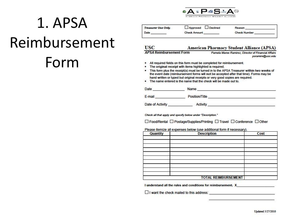 2. ASSP Non-Travel Expense Form