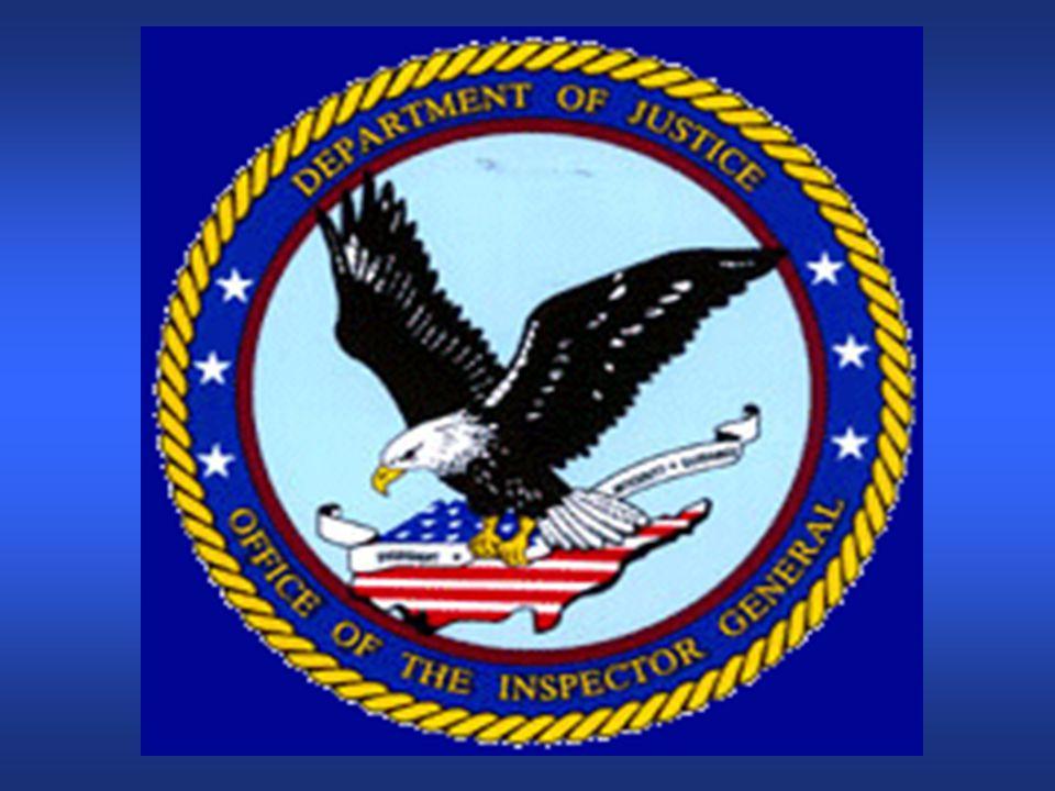 Integrity Briefing22 DOJ vs. BOP Administrative Actions