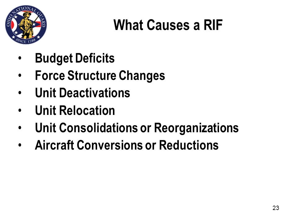22 Workforce Restructuring, Realignment, Reorganization & Reduction in Force Ref: TPR 351