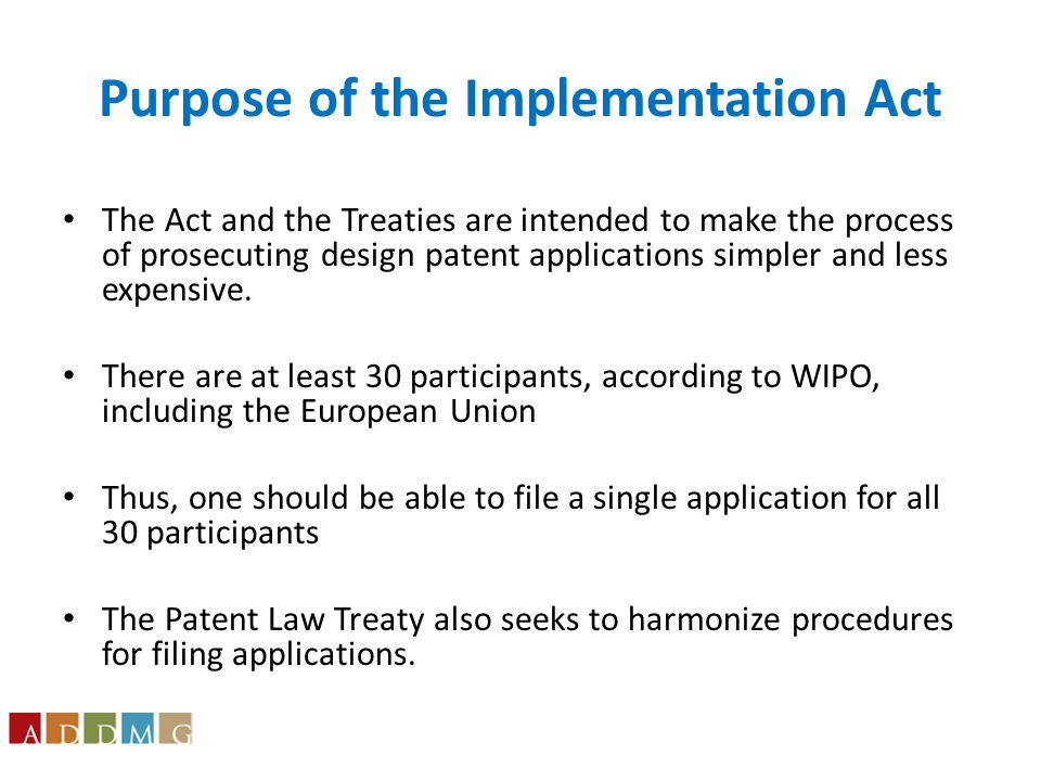 Filing Date Provisions Under Section 384 an international design application designating the United States but otherwise meeting the requirements of Chapter 16 of the Patent Act for design patents may be treated as a design application under Chapter 16. This gives the application the filing date that would be accorded any other U.S.