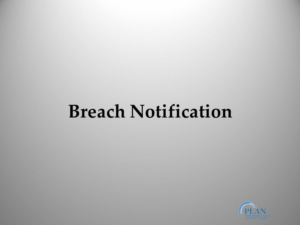 Breach Notification